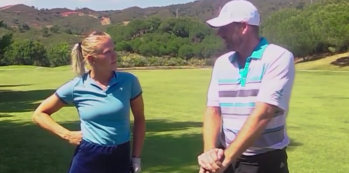Consejos del PRO con Elina Hagberg / Golf Tips with the PRO and with Elina Hagberg at Santa Maria Golf Club